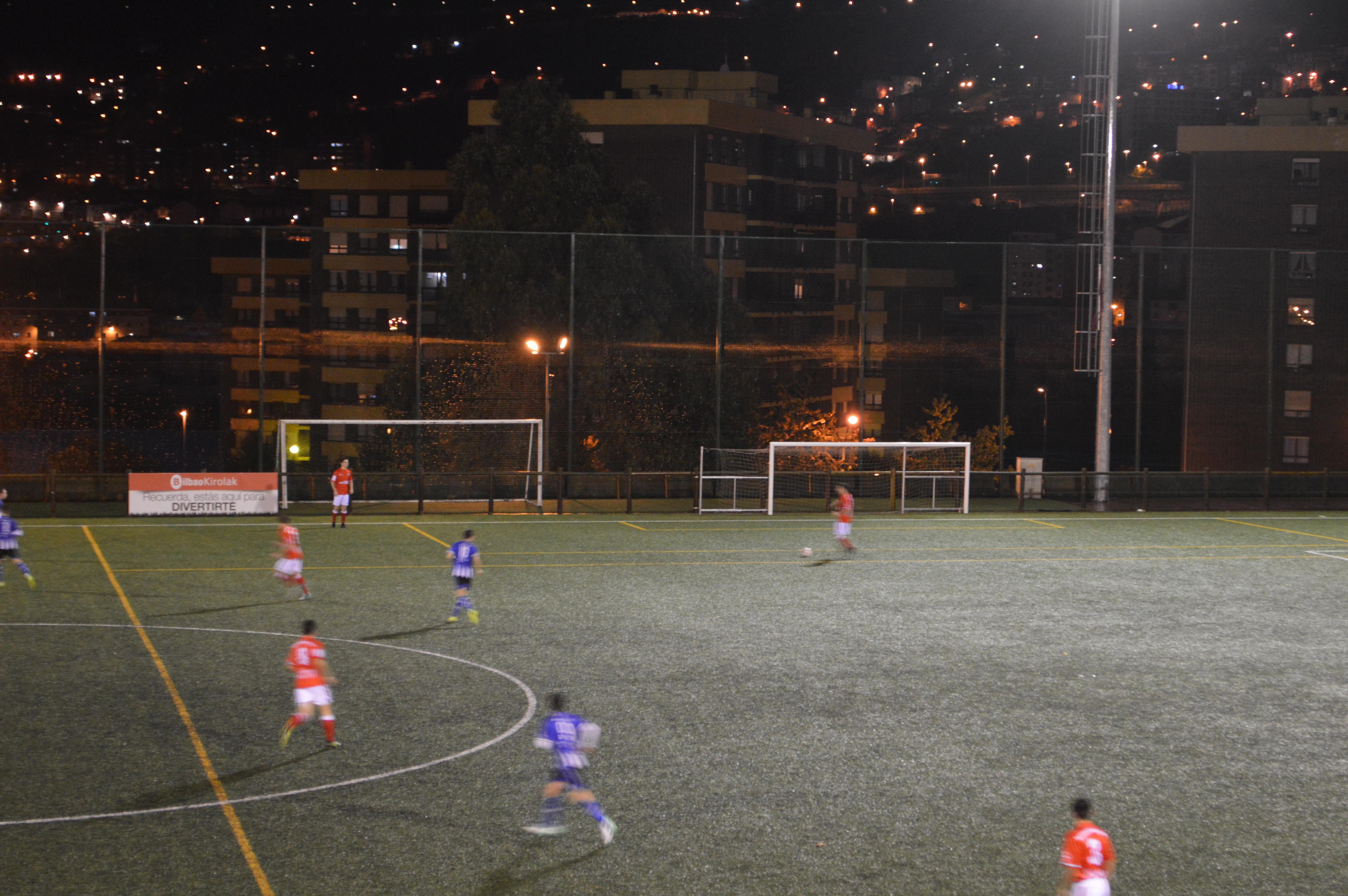 Basque Groundhopping SD Deusto Vs Amurrio Club 5th November 2017 Etxezuri Tercera División