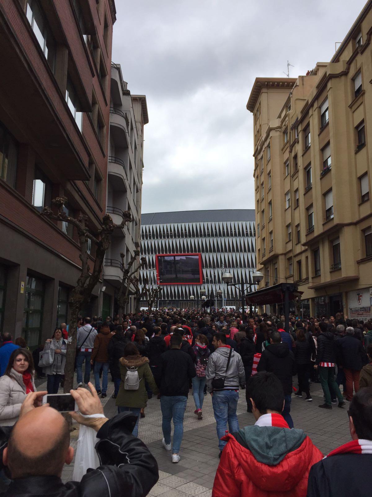 Basque Groundhopping 15 Athletic Club Vs Real Sociedad Dec 2017 Pozas
